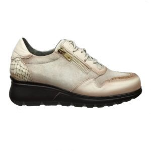 Zapato deportivo mujer d'chicas beige